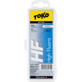 Toko HF Hot Wax - 120g amarillo/azul